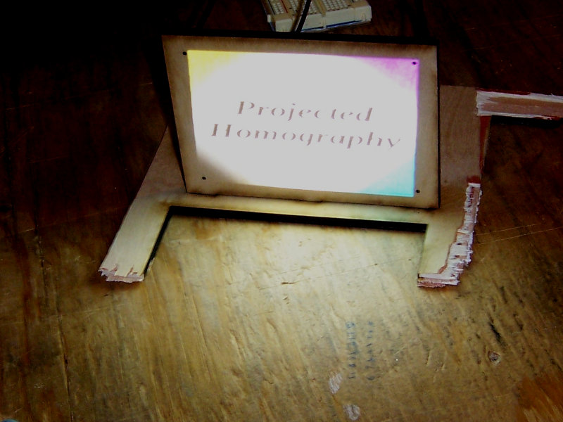 And the output! A projected homograph